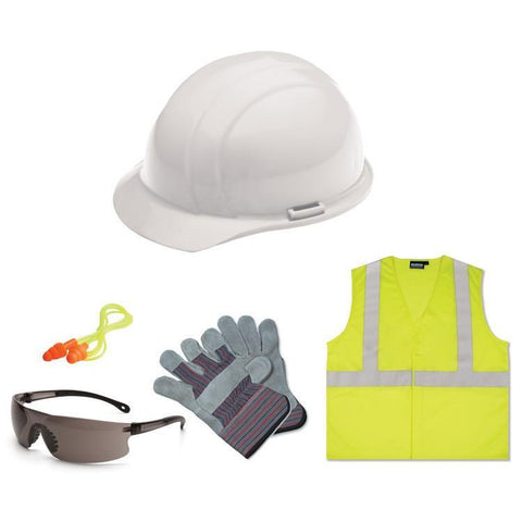 Safetyhats.com Safety Construction Accessories New Hire Kit Smoke lens, S362 2X, Safety Construction Accessories - Signsdirect247.com