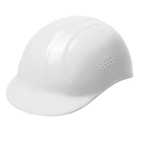 Bump Cap Standard White, hardhat, Head Protection - CustomSafetyVests.com