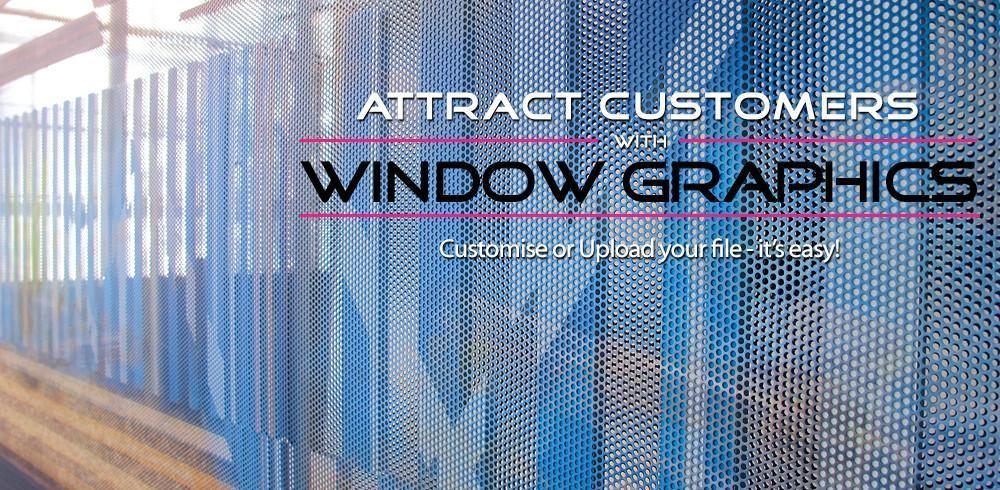 Window Graphics, oneway window graphics