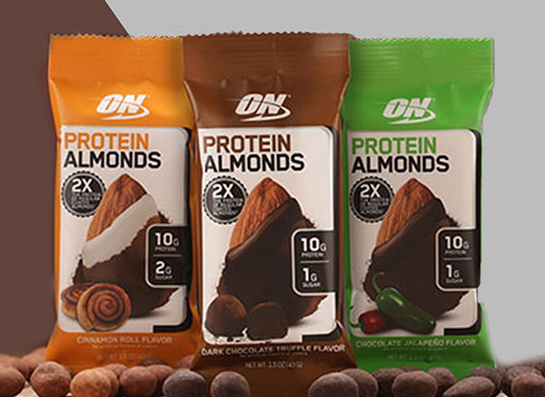 Go Nuts For Protein: New Optimum Nutrition Protein Almonds!