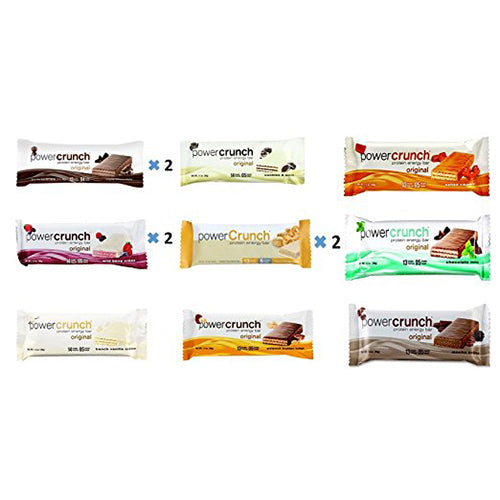 Shop Power Crunch Protein Bar Variety Pack, 9 Flavors, 12 Count online  sports-nutrition-protein-bars
