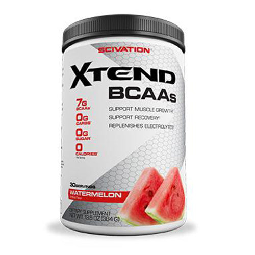 Shop Scivation Xtend BCAA, Watermelon Madness, 30 Serving online  branched-chain-amino-acids-nutritional-supplements