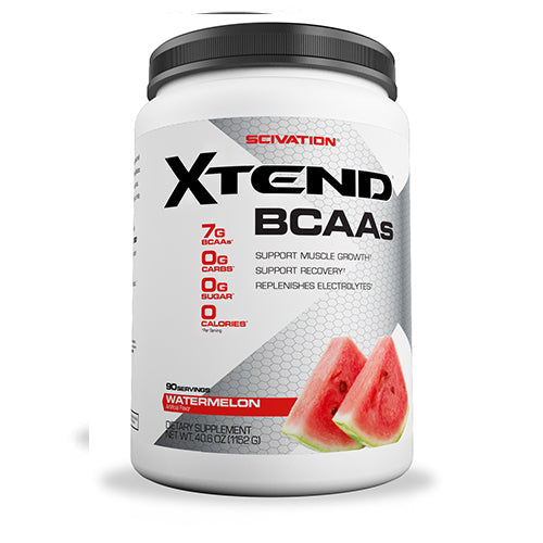 Shop Scivation Xtend BCAA, Watermelon Madness, 90 Serving online  branched-chain-amino-acids-nutritional-supplements