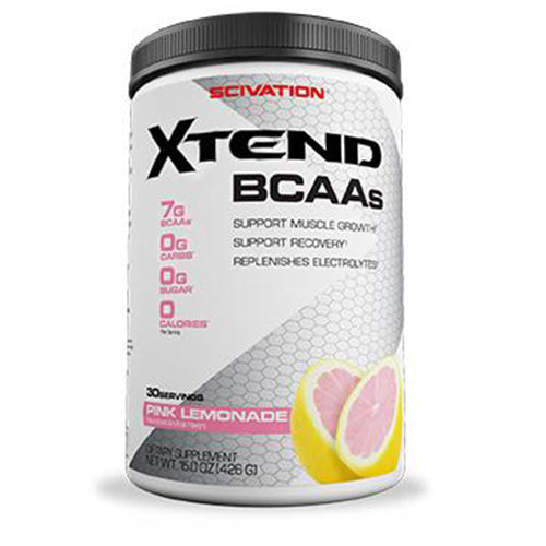 Shop Scivation Xtend BCAA, Pink Lemonade, 30 Serving online  branched-chain-amino-acids-nutritional-supplements