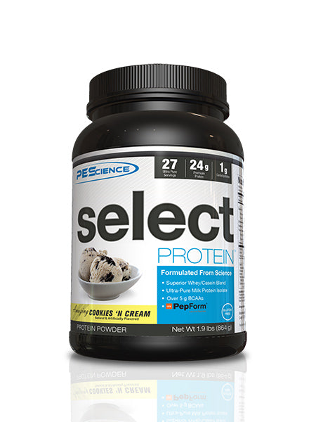 Shop PEScience Select Protein, Cookies 'n Cream, 27 Serving online  sports-nutrition-protein-powder-blends
