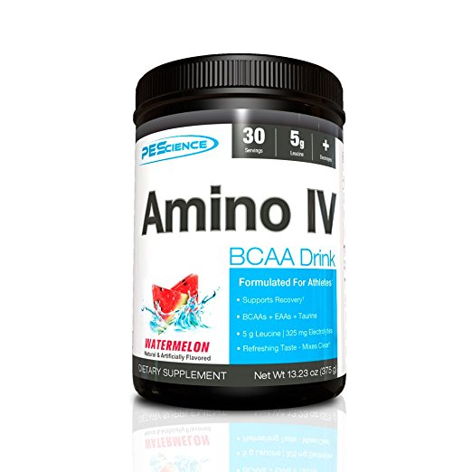 Shop PEScience Amino IV, Watermelon, 30 Serving online  amino-acids