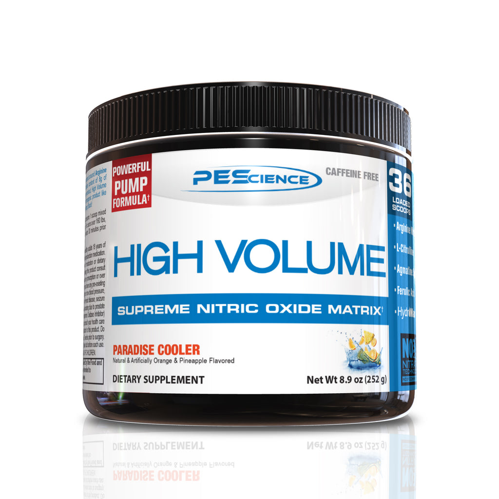 Shop PEScience High Volume, Paradise Cooler, 18 Serving online  sports-nutrition-pre-workout-powders