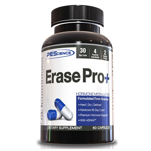 Shop PEScience Erase Pro +, 60 Capsule online  sports-nutrition-testosterone-boosters