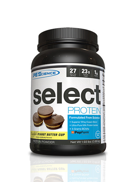 Shop PEScience Select Protein, Chocolate Peanut Butter Cup, 27 Serving online  sports-nutrition-protein-powder-blends