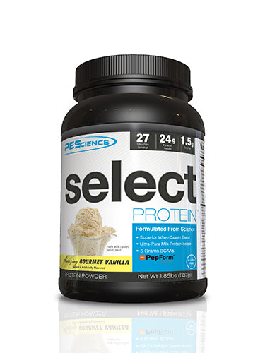 Shop PEScience Select Protein, Gourmet Vanilla, 27 Serving online  sports-nutrition-protein-powder-blends