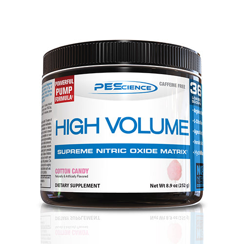 Shop PEScience High Volume, Cotton Candy, 18 Serving online  sports-nutrition-pre-workout-powders