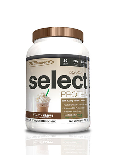 Shop PEScience Select Protein Cafe Series, Vanilla Frappe, 20 Serving online  sports-nutrition-protein-powder-blends