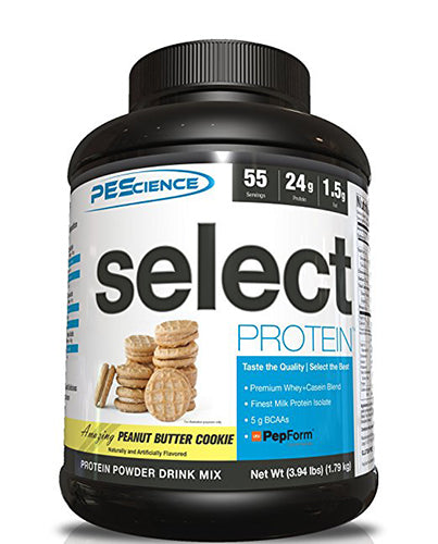 Shop PEScience Select Protein, Peanut Butter Cookie, 55 Serving online  sports-nutrition-protein-powder-blends