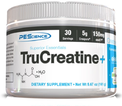 Shop PEScience TruCreatine+, 30 Serving online  creatine-nutritional-supplements