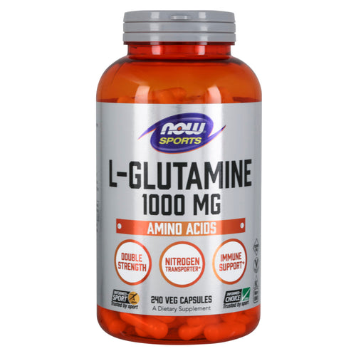 Shop NOW Foods L-Glutamine 1,000 Milligram, 240 Capsule (RH) online  l-glutamine-nutritional-supplements