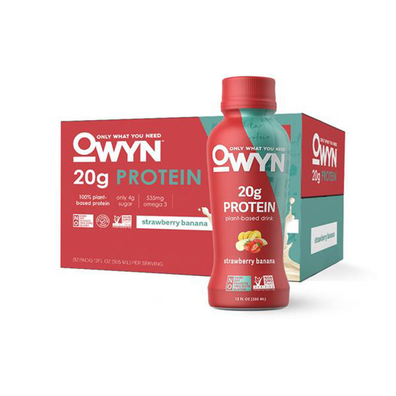 Shop Only What You Need OWYN Protein Drink, Strawberry Banana, 12 Count online  sports-nutrition-ready-to-drink-protein