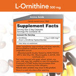 L-Ornithine 500 mg