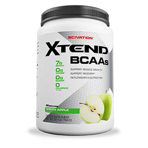 Shop Scivation Xtend BCAA, Green Apple Explosion, 90 Serving online  branched-chain-amino-acids-nutritional-supplements