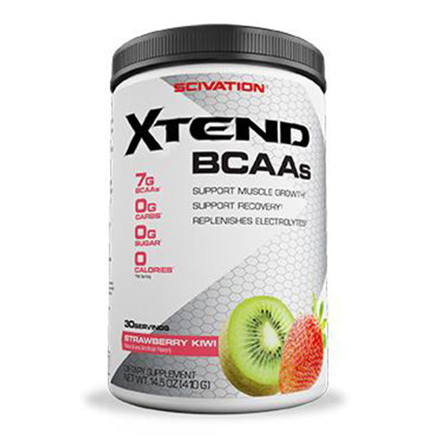 Shop Scivation Xtend BCAA, Strawberry Kiwi, 30 Serving online  branched-chain-amino-acids-nutritional-supplements
