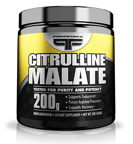 Shop Primaforce Citrulline Malate Powder, Unflavored, 200 Gram online  sports-nutritional-supplements
