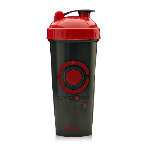 Shop Perfectshaker Justice League Series Shaker Cup, Cyborg, 28 Fluid Ounce online  sports-nutrition-shaker-bottles