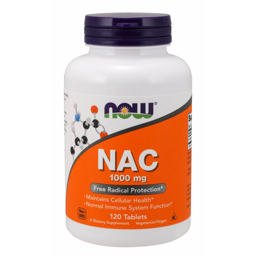 Shop NOW Foods NAC 1000 mg, 120 Tablet (RH) online  vitamins-and-dietary-supplements