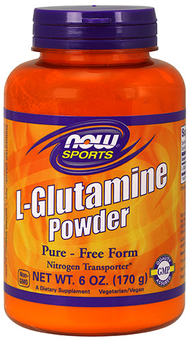 Shop NOW Foods L - Glutamine Powder, 6 Ounce online  l-glutamine-nutritional-supplements