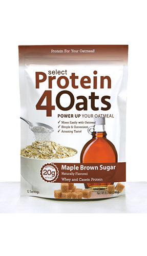 Shop PEScience Select Protein4Oats, Maple Brown Sugar, 12 Serving online  sports-nutrition-protein-powder-blends
