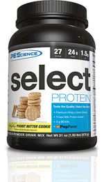 Shop PEScience Select Protein, Peanut Butter Cookie, 27 Serving online  sports-nutrition-protein-powder-blends