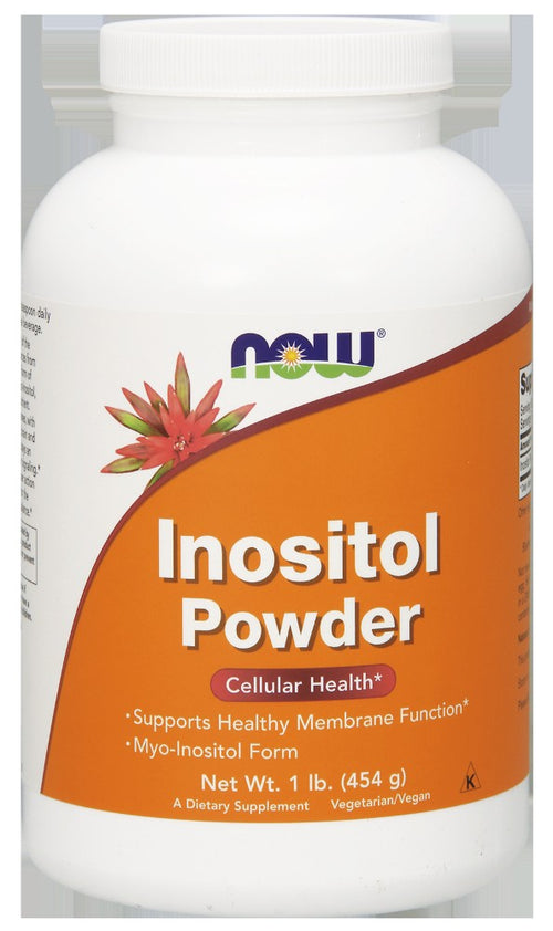 Shop NOW Foods Inositol Powder Vegetarian, 1 Pound online  vitamin-b
