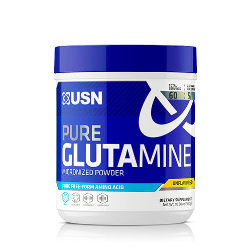 Shop USN Core Essentials Series, Pure Glutamine, 60 Serving (Pack of 1) online  l-glutamine-nutritional-supplements