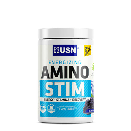 Shop USN Cutting Edge Series Amino Stim, Blue Raspberry, 30 Serving online  amino-acids