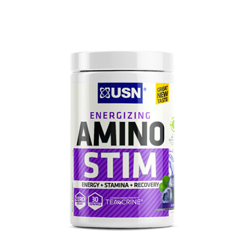 Shop USN Cutting Edge Series Amino Stim, Acai Berry, 30 Serving online  amino-acids