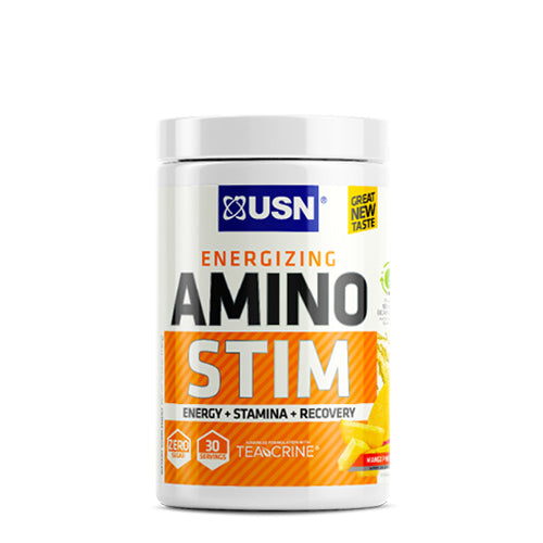 Shop USN Cutting Edge Series Amino Stim, Mango Pineapple, 30 Serving online  amino-acids