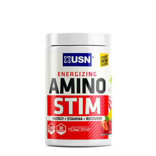 Shop USN Cutting Edge Series Amino Stim, Fruit Punch, 30 Serving online  amino-acids