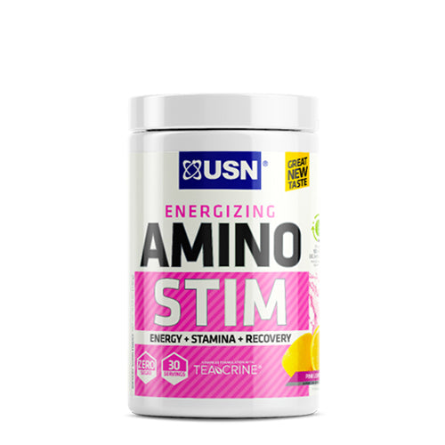 Shop USN Cutting Edge Series Amino Stim, Pink Lemonade, 30 Serving online  amino-acids