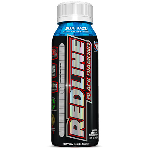 Shop VPX Redline Black Diamond, Blue Razz, 8 Fluid Ounce (12 Pack) online  sports-nutrition-endurance-and-energy-drinks