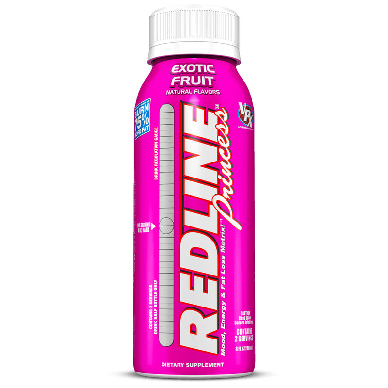 Shop VPX Redline (Pnk) RTD, 8 Fluid Ounce Bottle (24 Pack), Exotic Fruit online  sports-nutrition-endurance-and-energy-drinks