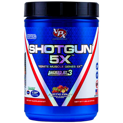 Shop VPX Shotgun 5X, 28 Serving, Exotic Fruit online  sports-nutrition-endurance-and-energy-supplements
