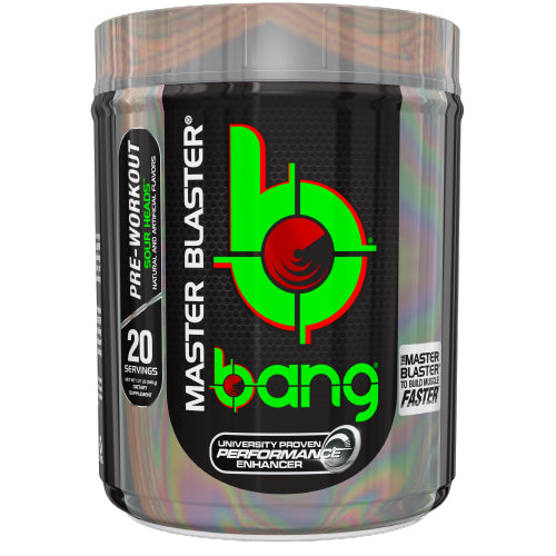 Shop Bang Master Blaster, Sour Heads, 20 Serving online  sports-nutrition-pre-workout-supplements