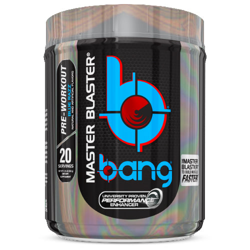 Shop Bang Master Blaster, Blue Razz, 20 Serving online  sports-nutrition-pre-workout-supplements