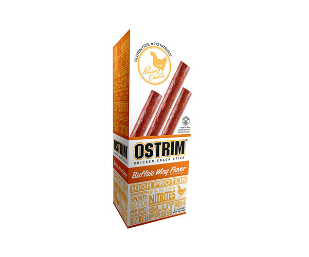 Shop Ostrim Chicken Snack Stick, Buffalo Wing Flavor, 10 Count online  jerky-and-dried-meats