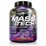 Shop MuscleTech Mass Tech, Strawberry, 7 Pound online  sports-nutrition-weight-gainers