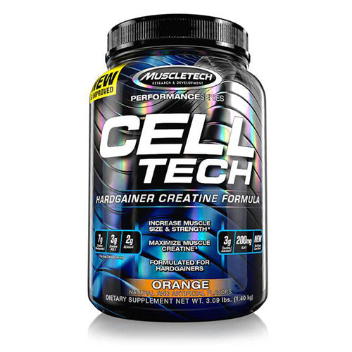 Shop MuscleTech Cell-Tech, Orange, 3 Pound online  creatine-nutritional-supplements