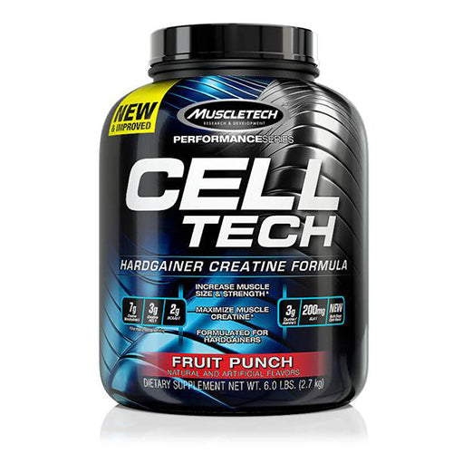 Shop MuscleTech Cell-Tech, Fruit Punch, 6 Pound online  creatine-nutritional-supplements