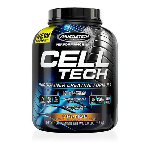 Shop MuscleTech Cell-Tech, Orange, 6 Pound online  creatine-nutritional-supplements