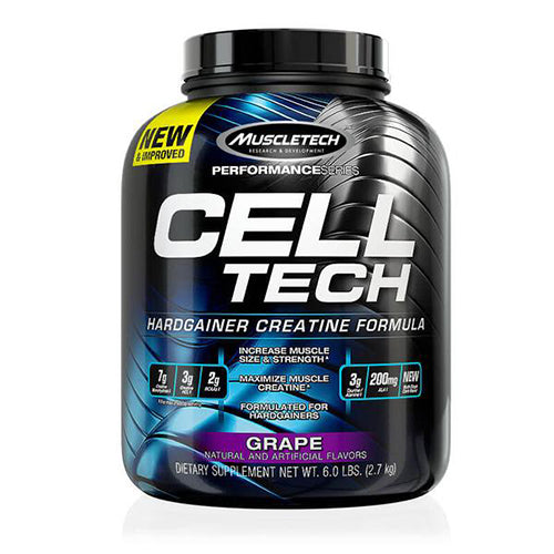 Shop MuscleTech Cell-Tech, Grape, 6 Pound online  sports-nutrition-post-workout-and-recovery-supplements