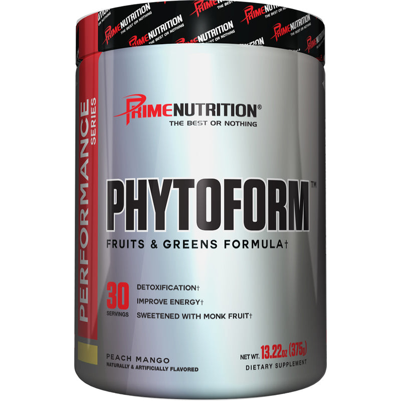 Shop Prime Nutrition Phytoform, Peach Mango, 30 Serving online  amino-acids