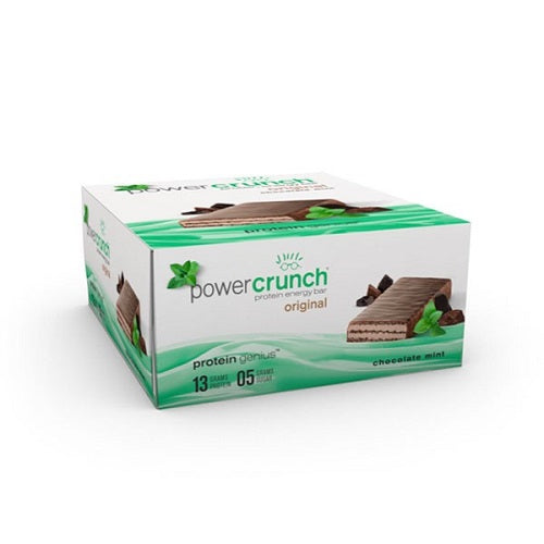 Shop Power Crunch Protein Bar, Chocolate Mint, 40 Gram online  sports-nutrition-protein-bars