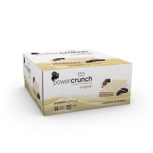 Shop Power Crunch Protein Bar, Cookies & Crème, 12 Count online  sports-nutrition-protein-bars